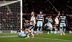 Johnny Russell of Derby County misses a chance to score a goal - Mandatory by-line: Robbie Stephenson/JMP - 31/03/2017 - FOOTBALL - iPro Stadium - Derby, England - Derby County v Queens Park Rangers - Sky Bet Championship