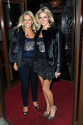 © Licensed to London News Pictures. Natasha Richardson and Nicola Squibb attend the CAKO & CAKO Kids press launch at Sanctum Soho Hotel in Chelsea, London, UK on 10 December 2013. Photo Credit: Raimondas Kazenas/LNP