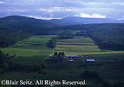 Northeast PA Landscape, farm and forest, Wyalusing Rocks Overlook, US route 6