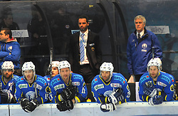 09.03.2010, Volksgarten, Salzburg, AUT, EBEL, EC Red Bull Salzburg vs KHL Medvescak Zagreb,  im Bild Zagreb-Head Coach Raso RAJSAR, EXPA Pictures © 2010, PhotoCredit: EXPA/ M. Laux / SPORTIDA PHOTO AGENCY