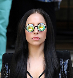 Lady GaGa leaving her London hotel, UK. 29/08/2013<br /> BYLINE MUST READ : GOTCHAIMAGES.COM<br /> <br /> Copyright by © Gotcha Images Ltd. All rights reserved.<br /> Usage of this image is conditional upon the acceptance <br /> of Gotcha Images Ltd, terms and conditions available at<br /> www.gotchaimages.com