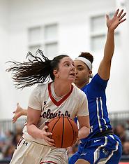2018-03-07 Robert Morris vs. CCSU NEC Women's Basketball Quarterfinals