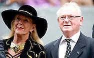 DEN HAAG - Koning Willem Alexander en koningin Máxima komen in de Gouden Koets aan bij de Ridderzaal op Prinsjesdag. De koning zal daar de troonrede voorlezen. ANP/ POOL ROBIN UTRECHT