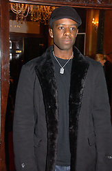 Actor ADRIAN LESTER at a party to launch the Ermenegildo Zegna Heritage Collection fo men at The Duchess Palace, Mansfield Street, London on 30th November 2006.<br />