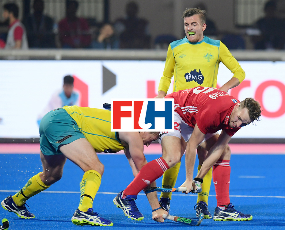 Odisha Men's Hockey World League Final Bhubaneswar 2017<br /> Match id:09<br /> Australia v England<br /> Foto: Chris Griffiths (Eng) <br /> WORLDSPORTPICS COPYRIGHT FRANK UIJLENBROEK