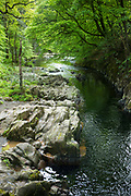 River Esk at Eskdale in the Lake District, Cumbria, England