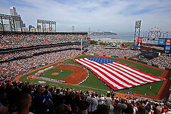 Opening Day at AT&T Park, 2016