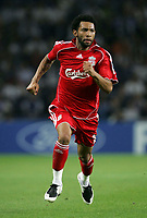 Photo: Paul Thomas.<br /> Porto v Liverpool. UEFA Champions League Group A. 18/09/2007.<br /> <br /> Jermaine Pennant of Liverpool.