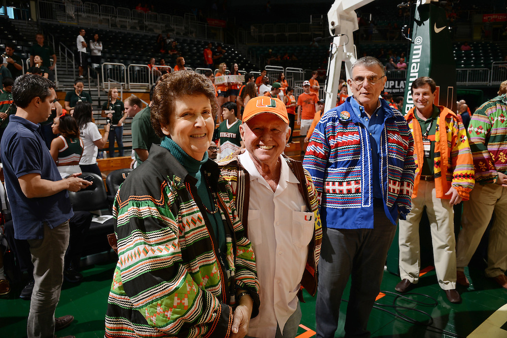 2014 Miami Hurricanes Men's Basketball vs Wake Forest