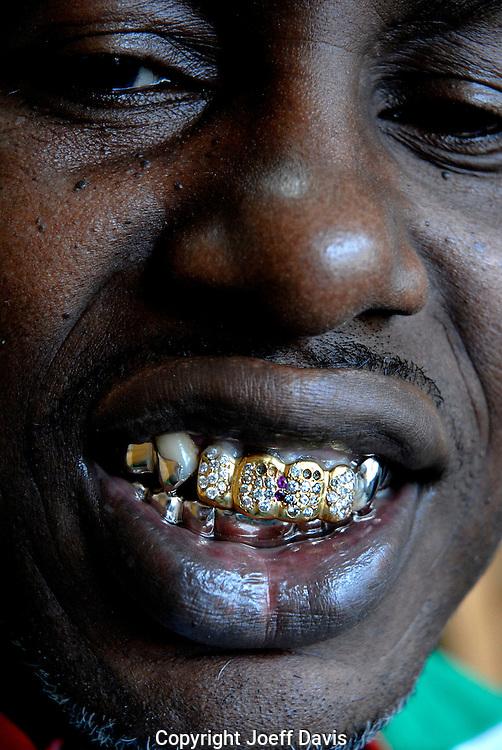 Eddie Plein, owner of Eddie's Gold Teeth