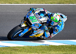 October 26, 2018 - Melbourne, Victoria, Australia - Italian rider Franco Morbidelli  (#21) of EG 0,0 Marc VDS in action during day 2 of the 2018 Australian MotoGP held at Phillip Island, Australia. (Credit Image: © Theo Karanikos/ZUMA Wire)