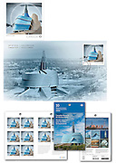 PRODUCT: Postage Stamp Products<br /> TITLE: Canadian Museum for Human Rights<br /> CLIENT: Canada Post
