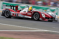 June 13th 2010, 24h Le Mans, Audi R15 TDI Audi Sport Team Joest, Tom Kristensen (DNK).