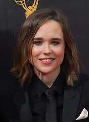 Ellen Page   attends  2016 Creative Arts Emmy Awards - Day 2 at  Microsoft Theater on September 11th, 2016  in Los Angeles, California.Photo:Tony Lowe/Globephotos