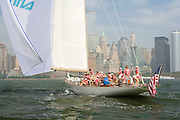 W Class Wild Horses racing in the Skyline Race at New York Classic Week.