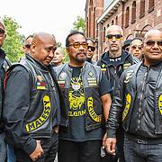 NLD/Amsterdam/20150618 - Voorvertoning Satudarah – One Blood documentaire, midden oprichter Michel Boer en president Xanterra Manuhutu
