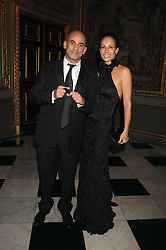 GUY & ANDREA DELLAL at the Ark 2007 charity gala at Marlborough House, Pall Mall, London SW1 on 11th May 2007.<br />