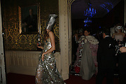 Edina Fohlan and Edeline Lee, The Moet and Chandon Fashion Tribute 2006 Honouring British Photographer Nick Knight. Strawberry Hill House. Twickenham. 24 October 2006. -DO NOT ARCHIVE-© Copyright Photograph by Dafydd Jones 66 Stockwell Park Rd. London SW9 0DA Tel 020 7733 0108 www.dafjones.com