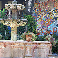 Fountains, Tiles, Plants and Pots