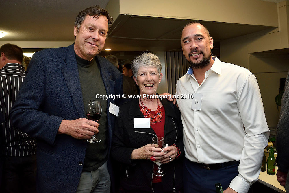 Guests during the welcome session at the Basketball New Zealand awards evening at the Mercure Hotel in Wellington on Friday the 20th of May 2016. Copyright Photo by Marty Melville / www.Photosport.nz