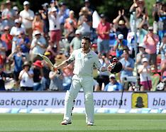 Christchurch-Cricket, New Zealand v Australia, 2nd test, day 1
