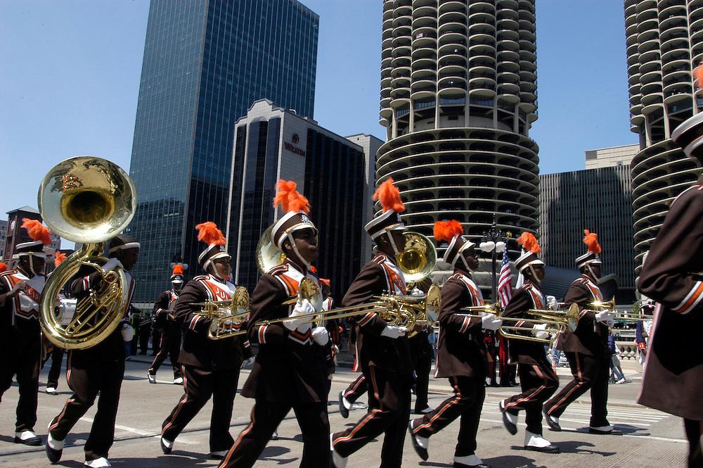 USA,  Illinois, Chicago, Memorial Day Parade