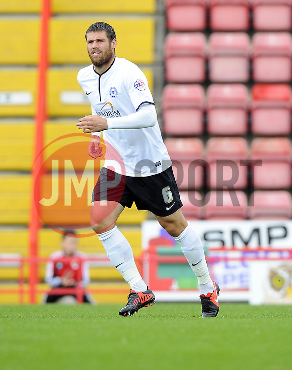 Peterborough United's Michael Bostwick  - Photo mandatory by-line: Joe Meredith/JMP - Tel: Mobile: 07966 386802 14/09/2013 - SPORT - FOOTBALL -  Ashton Gate - Bristol - Bristol City V Peterborough United - Sky Bet League One