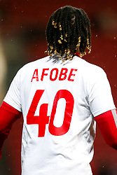 Kasey Palmer as Bristol City wear special warm up shirts in tribute to the Afobe family following the passing of Benik Afobe's baby daughter Amora, aged 2 - Rogan/JMP - 10/12/2019 - Ashton Gate Stadium - Bristol, England - Bristol City v Milwall FC - Sky Bet Championship.
