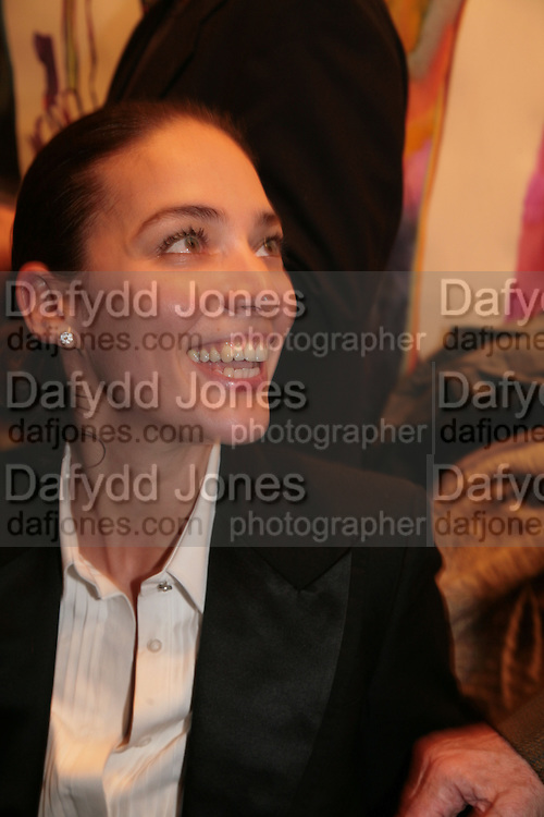 Selin Tamtekin, Simon Petherick and William Cash host book launch for 'The Turkish Diplomat's Daughter' by Deniz Goran. Maddox Arts. Brooks Mews, Mayfair. 3 October 2007. -DO NOT ARCHIVE-© Copyright Photograph by Dafydd Jones. 248 Clapham Rd. London SW9 0PZ. Tel 0207 820 0771. www.dafjones.com.