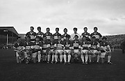 Group photograph of the Minor Laois team at the All Ireland Minor Gaelic Football Final Cork v. Laois in Croke Park on the 24th September 1967.