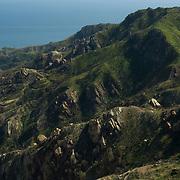 Santa Monica Mountains park. California,USA.