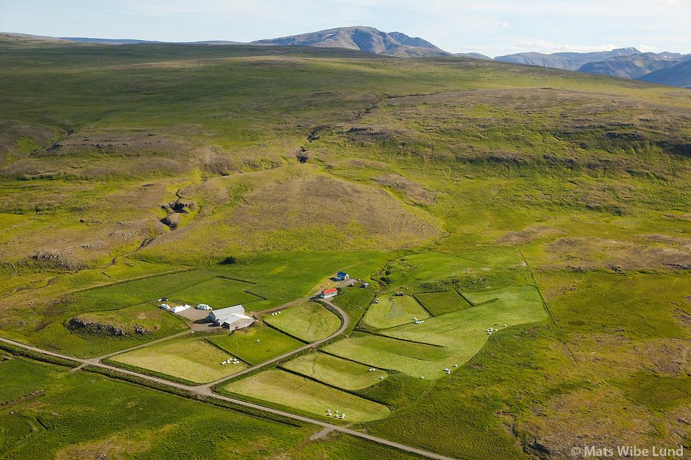 Skörð séð til suðurs, Dalabyggð áður Miðdalahreppur / Skord viewing south, Dalabyggd former Middalahreppur.