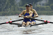 Poznan, POLAND.  2006, FISA, Rowing, World Cup,   moving away from  the start  pontoon  'Malta Regatta course;  Poznan POLAND, Fri. 16.06.2006. © Peter Spurrier   ....[Mandatory Credit Peter Spurrier/ Intersport Images] Rowing Course:Malta Rowing Course, Poznan, POLAND