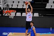 DESCRIZIONE: Torino FIBA Olympic Qualifying Tournament Allenamento<br /> GIOCATORE: Riccardo Cervi<br /> CATEGORIA: Nazionale Maschile Senior Allenamento<br /> GARA: FIBA Olympic Qualifying Tournament Allenamento<br /> DATA: 05/07/2016<br /> AUTORE: Agenzia Ciamillo-Castoria