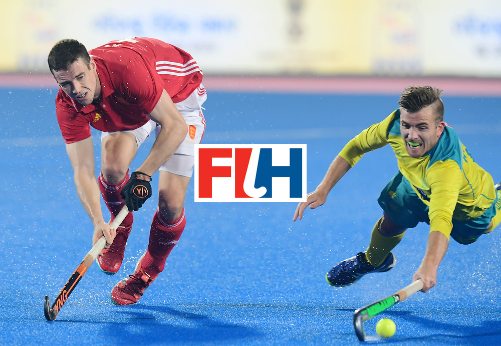 Odisha Men's Hockey World League Final Bhubaneswar 2017<br /> Match id:09<br /> Australia v England<br /> Foto:Henry Weir (Eng) <br /> WORLDSPORTPICS COPYRIGHT FRANK UIJLENBROEK