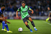 AFC Wimbledon defender Nesta Guiness-Walker (18) during the EFL Sky Bet League 1 match between Ipswich Town and AFC Wimbledon at Portman Road, Ipswich, England on 20 August 2019.