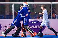 18 BEL vs NED : Jaap Stockmann congratulates Pirmin Blaak