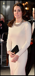 Duke and Duchess of Cambridge attend The Royal Film Performance of Mandela Loing Walk To Freedom Film Premiere at Odeon Leicester Square, London, United Kingdom. Thursday, 5th December 2013. Picture by Andrew Parsons / i-Images