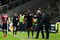 Rene GIRARD / Wilfried BIEN - 31.01.2015 - Nantes / Lille - 23eme journee de Ligue 1 -<br />Photo : Vincent Michel / Icon Sport