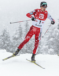31.01.2016, Casino Arena, Seefeld, AUT, FIS Weltcup Nordische Kombination, Seefeld Triple, Langlauf, im Bild Akito Watabe (JPN) // Akito Watabe of Japan competes during 15km Cross Country Gundersen Race of the FIS Nordic Combined World Cup Seefeld Triple at the Casino Arena in Seefeld, Austria on 2016/01/31. EXPA Pictures © 2016, PhotoCredit: EXPA/ JFK