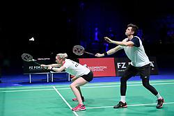 DK:<br /> 20190209, &Aring;rhus, Danmark:<br /> Badminton Danmark FZ Forza/RSL DM 2019. <br /> Mixed Double: Mathias Christiansen og Christinna Pedersen vs. Mathias Bay Schmidt og Rikke S&oslash;by Hansen. Guldvindere Mathias Bay Schmidt og Rikke S&oslash;by Hansen<br /> Foto: Lars M&oslash;ller<br /> UK: <br /> 20190209, Aarhus, Denmark:<br /> Badminton Danmark FZ Forza/RSL DM 2019.<br /> Mixed Double: Mathias Christiansen og Christinna Pedersen vs. Mathias Bay Schmidt og Rikke S&oslash;by Hansen.<br /> Photo: Lars Moeller