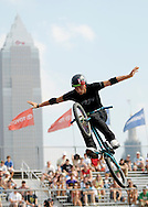 Anthony Napolitan  competes at the AST Dew Tour Right Guard Open BMX Park Prelims Friday, July 18, 2008 in Cleveland, OH.