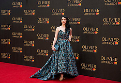 Danielle Hope arriving for The Olivier Awards at the Royal Albert Hall in London.