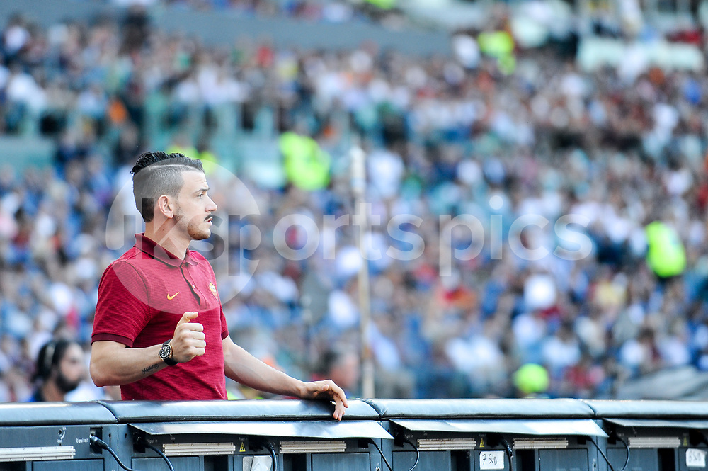 Francesco Totti of Roma on his last appearance in Rome after more than 20 years during the Serie A match between Roma and Genoa at Stadio Olimpico, Rome, Italy on 28 May 2017. Photo by Giuseppe Maffia.