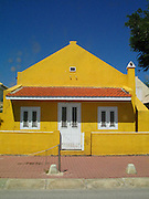 Yellow Building in Bonaire