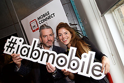 29/10/2015<br /> IAB Conference at the Guinness Storehouse.<br /> (l-r):<br /> Doug Farrell and Rachel Ray.