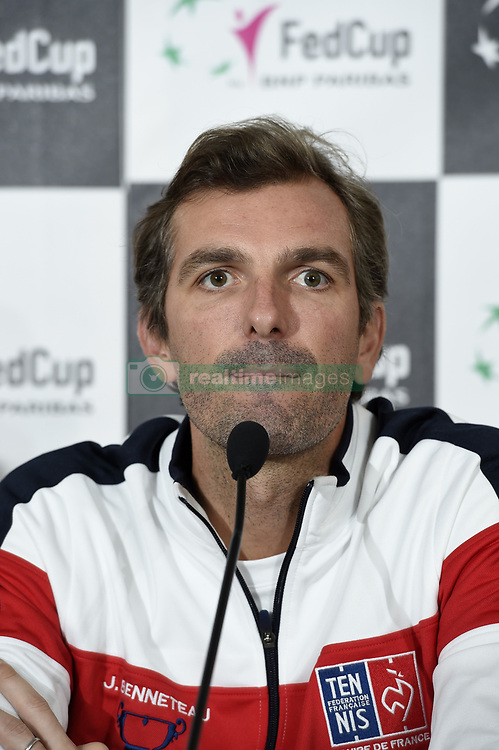 February 8, 2019 - Liege, France - Julien BENNETEAU captain of France (Credit Image: © Panoramic via ZUMA Press)