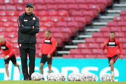 August 31, 2017 - Copenhagen, Denmark - Poland's head coach Adam Nawalka, during training session before FIFA World Cup 2018 qualifier MD-1 between Denmark and Poland at Parken Stadium in Copenhagen, Denmark on 31 August 2017. (Credit Image: © Foto Olimpik/NurPhoto via ZUMA Press)