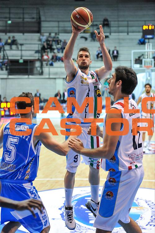 DESCRIZIONE : Final Eight Coppa Italia 2015 Desio Quarti di Finale Dinamo Banco di Sardegna Sassari - Vanoli Cremona<br /> GIOCATORE : Fabio Mian<br /> CATEGORIA : Tiro<br /> SQUADRA : Vanoli Cremona<br /> EVENTO : Final Eight Coppa Italia 2015 Desio<br /> GARA : Dinamo Banco di Sardegna Sassari - Vanoli Cremona<br /> DATA : 20/02/2015<br /> SPORT : Pallacanestro <br /> AUTORE : Agenzia Ciamillo-Castoria/L.Canu