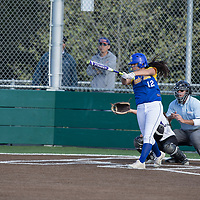 (Photograph by Bill Gerth/ for Max Preps/3/21/17) Santa Clara vs Monta Vista in a SCVAL girls varsity softball game at Monta Vista High School, Cupertino CA on 3/21/17.